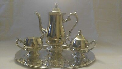 Coffee/Tea Set, Sterling Silver Reed and Barton s2600