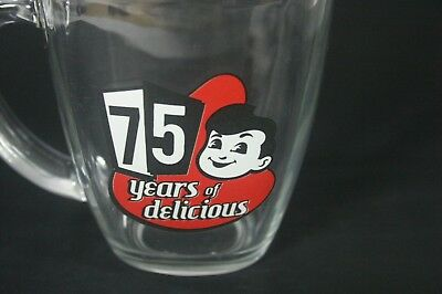 Big Boy Restaurant 75 Years of Delicious Square Glass Mug
