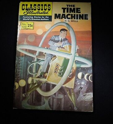 Classics Illustrated The Time Machine.