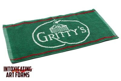Gritty Mcduff's Brewing Company Portland Maine Beer Bar Pub Towel - Never Used