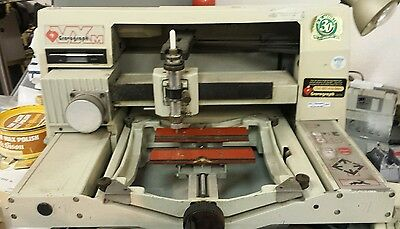 Engraving machines and stock