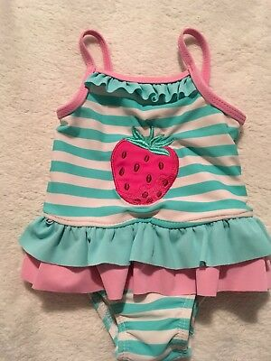 Baby Girls Mothercare Swimming Costume 3-6 Months