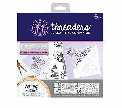 Threaders Embroidery transfer Sheets, Sewing, Transparent