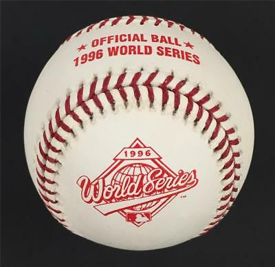 4927ff8ef1307 Rawlings Official 1996 World Series Baseball NEW YORK YANKEES WS Ball~New  in Box