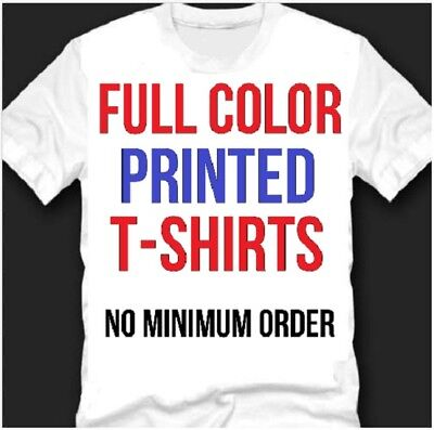 Custom Personalized T Shirt With Your Own Design Printed Tee T-Shirt