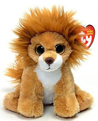 Ty Beanie Babies Midas the Lion