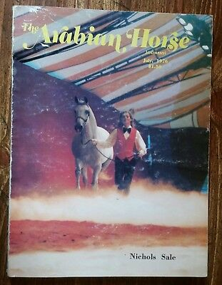 1976 Arabian Horse Journal Mike Nichols sale edition and much more