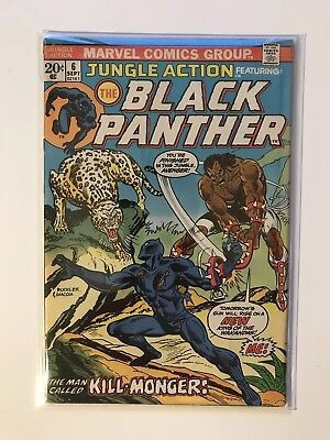 Jungle Action #6 - US Comics - 1st Erik Killmonger - Black Panther / Venom Key