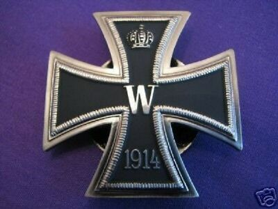 WW1 German Prussian Knights Grand Iron Cross 1. Class 1918 rare screwback model