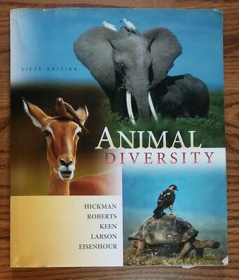 Animal Diversity by Cleveland P., Jr. Hickman, Larry S. Roberts, Susan L. - 5th