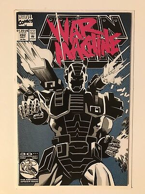Iron Man #282, US Comic,  First War Machine, NM Zustand - Marvel Comics