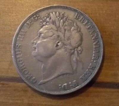 George IIII (or IV) Secundo Silver Crown 1821