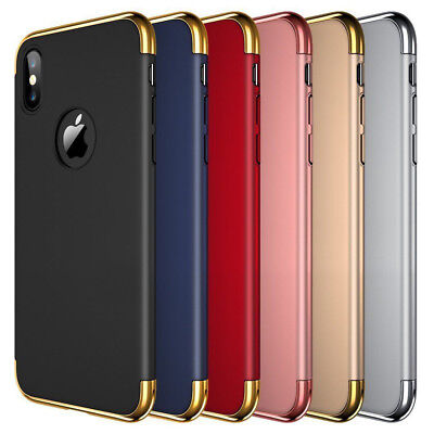 Luxury Ultrathin Shockproof Hybrid 360 Case Cover for Apple iPhone 8 7 6s Plus