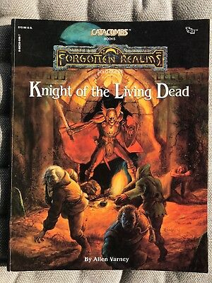 Knight of the Living Dead SOLO-GAMEBOOK, Catacombs TSR 1989, Forgotten Realms