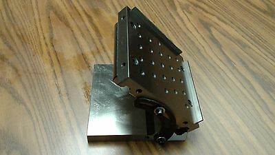 "6""X6""X2"" PRECISION SINE PLATES 1/4""-20 tapped holes 5"" roll distance SINE-P-662"
