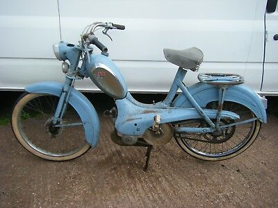 Peugeot Vintage Moped Autocycle Classic 1957 Bb Mobylette Raleigh Project