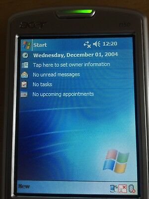 Acer N50 Handheld 312MHz 64MB 3.5-in LCD IrDA Bluetooth Win2003 SE PDA Pocket PC