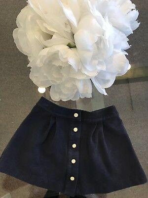 JANIE AND JACK GIRLS NAVY BLUE SKIRT EUROPEAN VOYAGE Size 18-24 mo