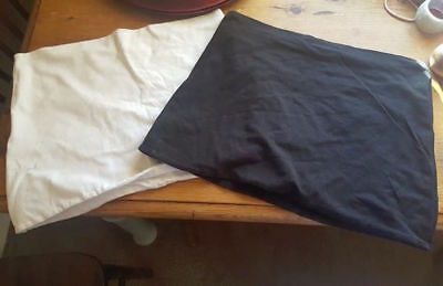 Black And White Maternity Bump Bands Size Small
