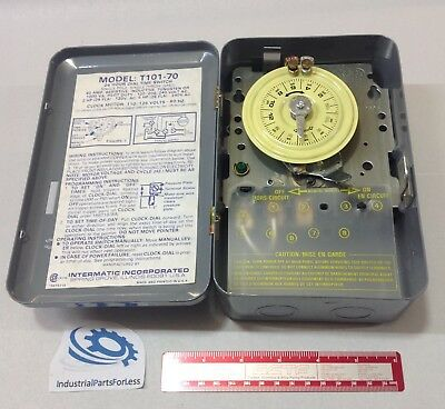 New Intermatic 24hr Dial Time Switch T101-70