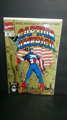 Captain America #383 (Mar 1991, Marvel) 50th anniversary issue