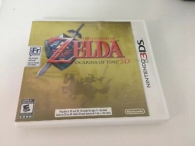 The Legend of Zelda: Ocarina of Time 3D - Nintendo 3DS - Used in Great Condition