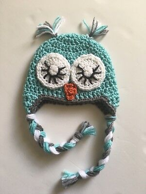 CROCHET SLEEPY OWL Hat e4d0412fe07f