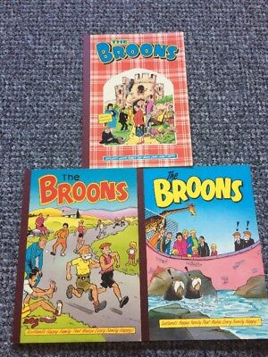 3x The BROONS annual 1985,87,89