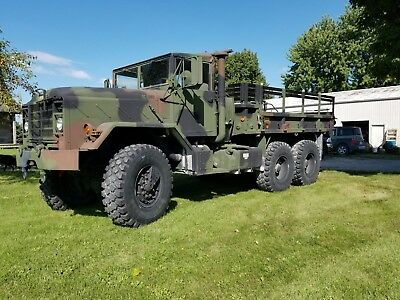 1990 M923A2 Military 5 Ton Cargo Truck BMY Harsco AM General