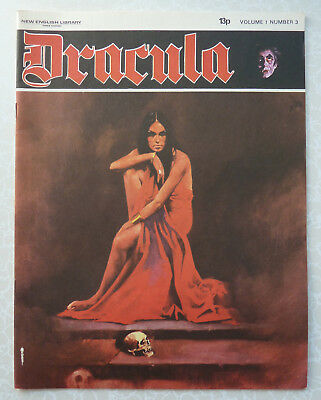 Dracula Magazine Vol 1 Number 3 1971 Comic, Wolff, The Sorderess of the Red Mist