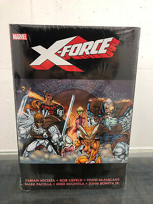 X-Force by Nicieza & Liefeld Volume 1 One Omnibus Hardcover HC New Sealed Marvel