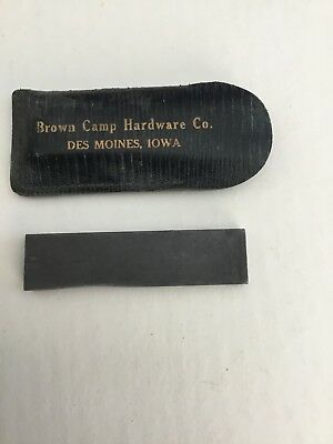 Brown Camp Hardware Co. Sharpping Stone Des Moines, Iowa