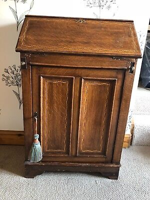 Antique Solid Wood Bureau- Dark
