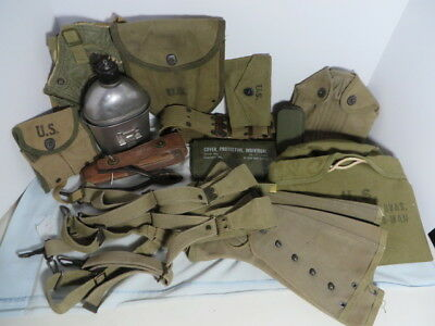 WW2 US Army Field Great lot 15 items all minty and original