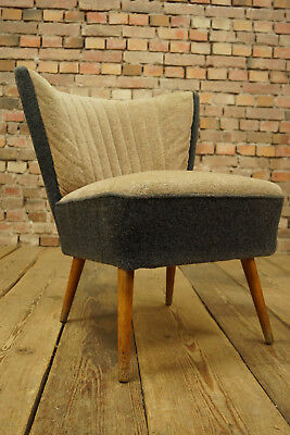 Rockabilly Cocktail Fauteuil Chaise Longue Vintage Mid Century De Club 50er 6