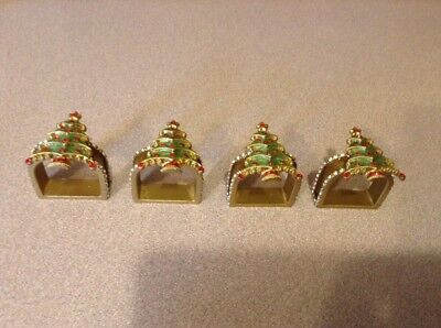 Christmas Tree Napkin Rings (W)