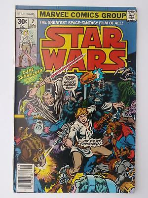 Star Wars #2 (Vf- 7.5) 1977; Luke Skywalker Strikes Back! Obi-Wan Kenobi! (B)