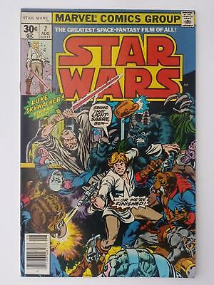 Star Wars #2 (Vf- 7.5) 1977; Luke Skywalker Strikes Back! Obi-Wan Kenobi! (A)
