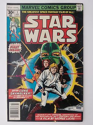Star Wars #1 (Fn+ 6.5) 1977; Fabulous First Issue!