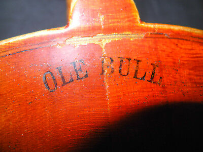 Alte Geige in gutem Zustand, old violin ready to play, anc. violon pret a jouer