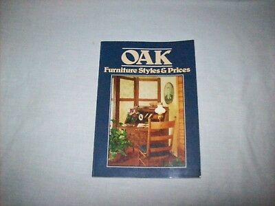 Oak Furniture, Styles and Prices by Wallace-Homestead Co. (1982, Paperback)