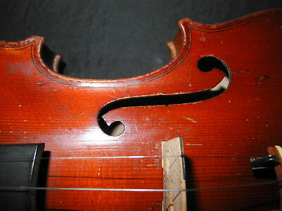 J. LETE Alte Geige in gutem Zustand, old violin ready to play, ancien violon