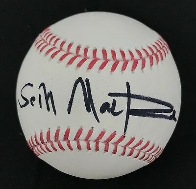 Seth Mcfarlane Signed Autographed Major League Game Baseball Family Guy