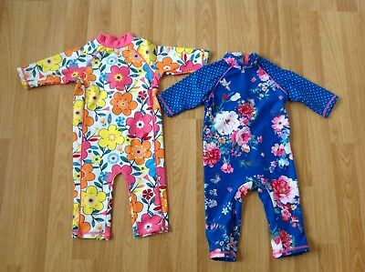 Mini Club Baby Girls Summer UV Sun Protector Suits 12-18 Months