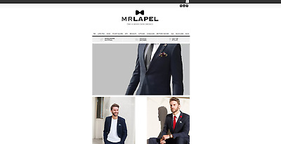 Men's fashion business for sale, with over 48k social media followers