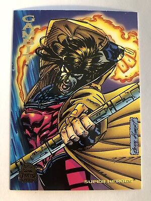 1994 Marvel Comics Universe Card #100 Gambit