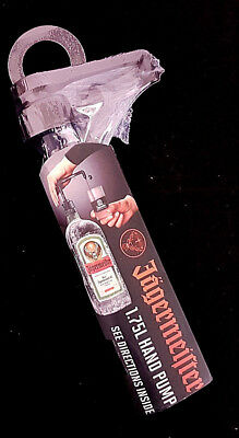Jagermeister 1.75 L. Hand Pump. New in The Package.
