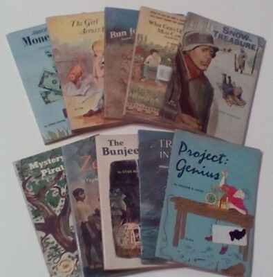 Lot Of 10 Vintage Scholastic Softcovers #14