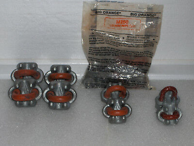 "Wire Rope Clamps- CROSBY- Assortment; 1/2""-3/8""-5/16"""