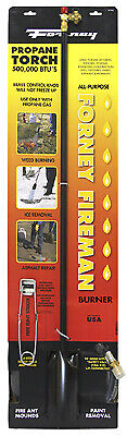 Forney 1723 Weed Burner & Ice Melter Propane Torch, 500,000-BTU - Quantity 1
